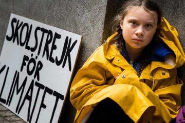 Adolescente luta por ar puro e é indicada ao Nobel da Paz
