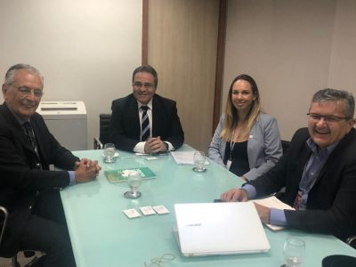 Presidente do Sindalcool se encontra com o Presidente do BNB Romildo Rolim