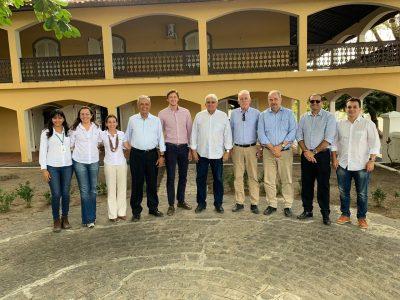 Tabu recebe visita de representantes do Governo